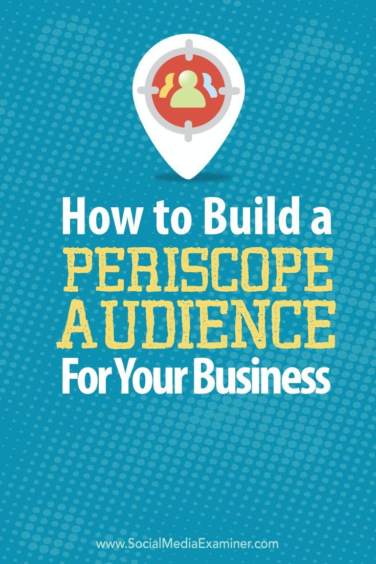 how to find build audience on facebook