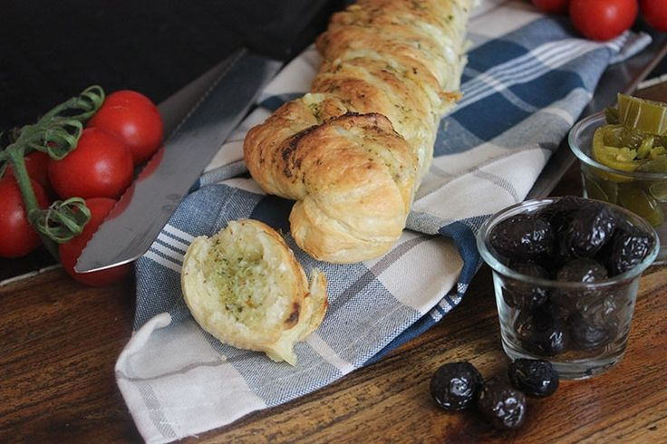 Sallys Blog - Kräuter-Knoblauch-Baguette