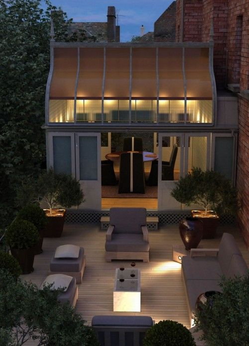 Beautiful conservatory and terrace...x