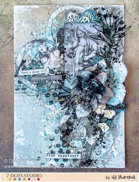 Happiness - canvas by Ola Khomenok