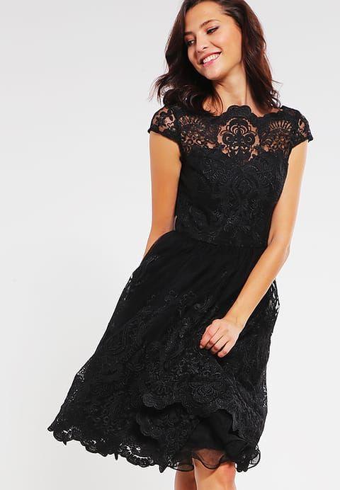 Chi Chi London MATILDA - Sukienka koktajlowa - black za 379 zł (17.04.17) zamów bezpłatnie na Zalando.pl.