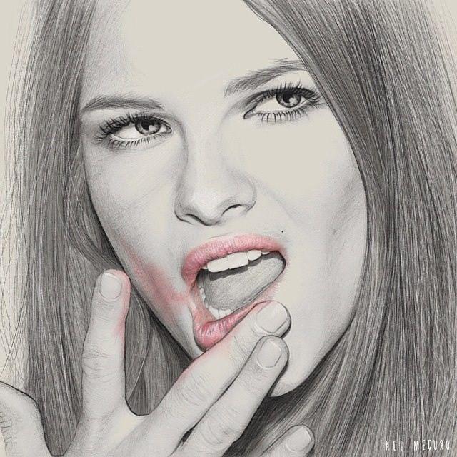 Beautiful Pencil Drawings by Kei Meguro