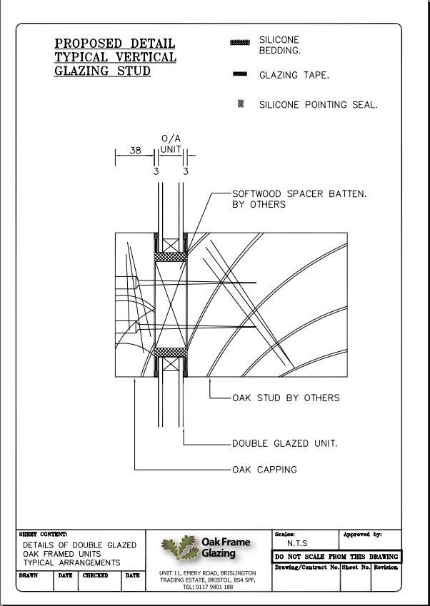 Standard Details | Oak Frame Glazing