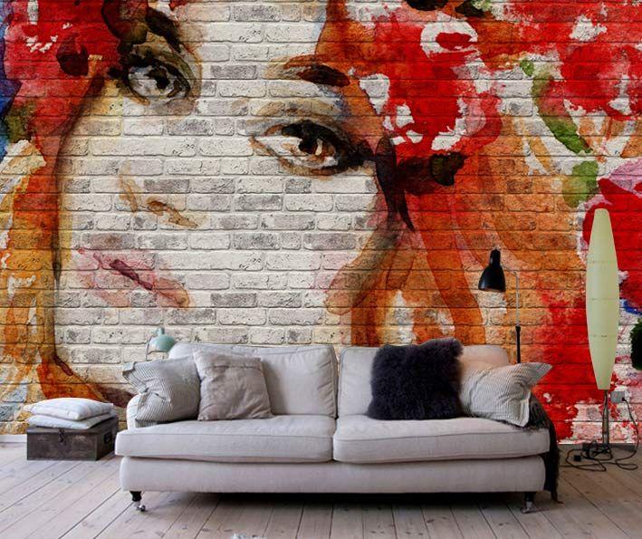 Resimli Taş Duvar Paneli Saçında Kırmızı Gül Kız Kuaförler için  panel, Sektörel Baskılı Panel, Resimli Taş Duvar Paneli, Duvar Kaplama, 3 boyutlu duvar kaplama, 3d dekoratif Kaplama Paneli, Strafor Panel, Strafor Duvar Paneli, Strafor Duvar Paneli, Dekoratif Duvar Paneli, Duvar Dekoru, Dekoratif Panel, Taş Duvar Panel istanbul