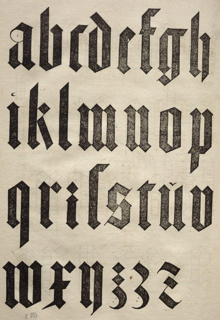 Albrecht Dürer - Underweysung der Messung. Fraktur