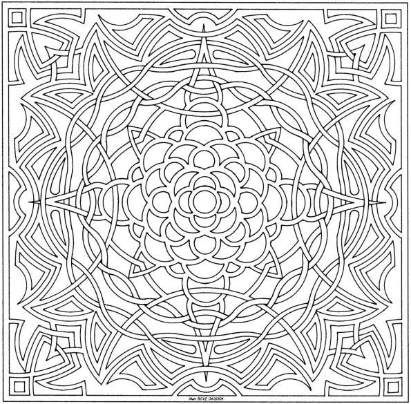 detailed coloring pages for adults 101 ideas 25 mandala coloring pages