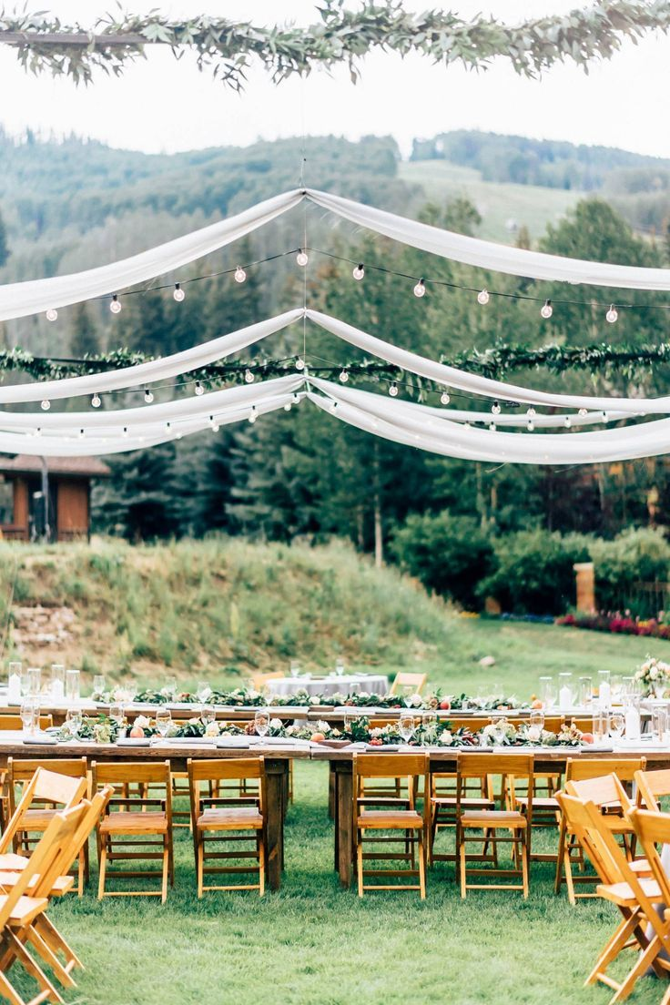 Romantic Mountain Wedding In Vail In 2020 Colorado Wedding