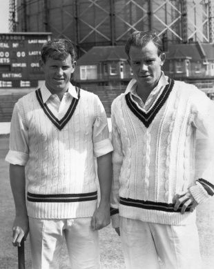 """Peter Pollock and brother Graeme. """"To get Graeme to play, I used to have to let him bat first"""" © Getty Images Enlarge"""