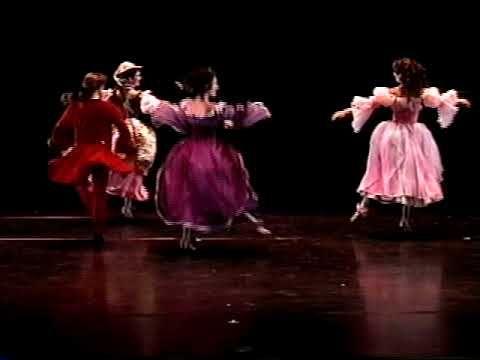 Gavota barroca, danza