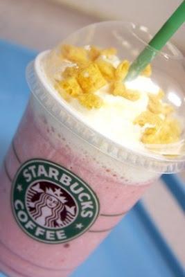 Captain Crunch Frappuccino