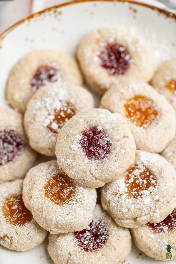 Gluten Free Thumbprint Cookies Vegan 8 Ingredients Recipe