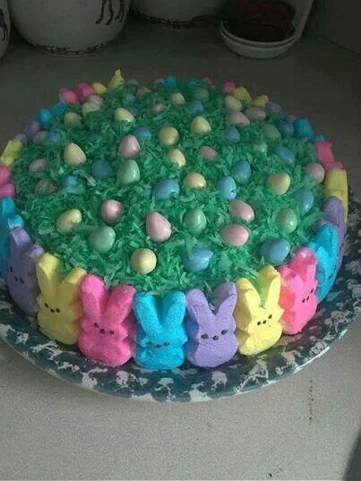 Easy Cake Decorating Idea For Easter