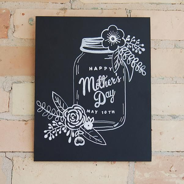 sign art, chalkboard art, Mother's Day sign by I DO SIGNS