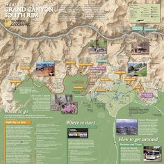 Grand Canyon Map | Where is Grand Canyon | AZ Address