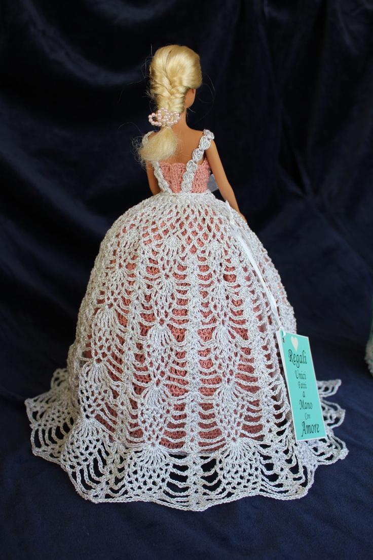 Tati - Whiterose Back [handmade crochet]