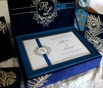 Peacock Invitation Design