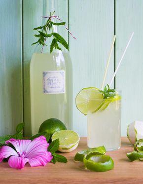 Minze-Limettensirup Minze-Limettensirup ist ein toller Durstlöscher in Wasser, Eistee, Eis und Popsicles. Aromatisiert Frühstück, Desserts und Kuchen.