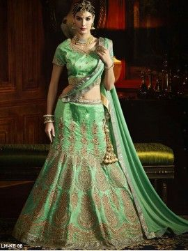 Stylish Heavy Work Lehenga
