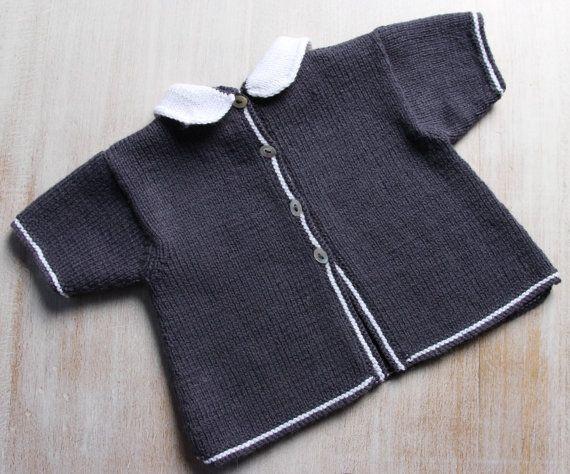 Tunique Bébé / Explications tricot en par LittleFrenchKnits sur Etsy