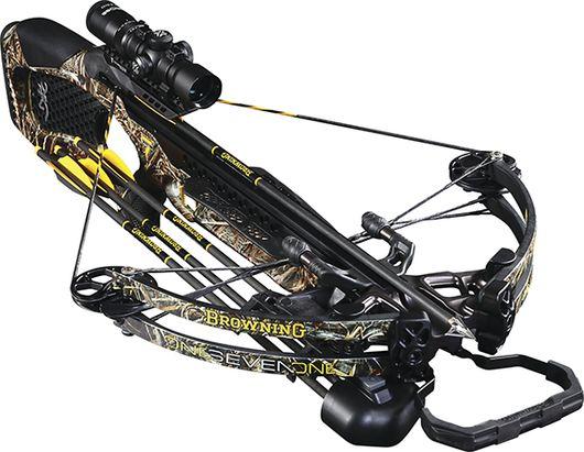 BROWNING CROSSBOWS 17 Browning Zero 7 Crossbow Pkg w/1.5x5 Scope,3 Arrows,RCD, EA