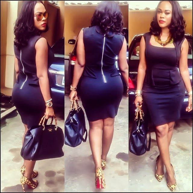 Nollywood Actress Daniella Okeke Steps Out in Style.