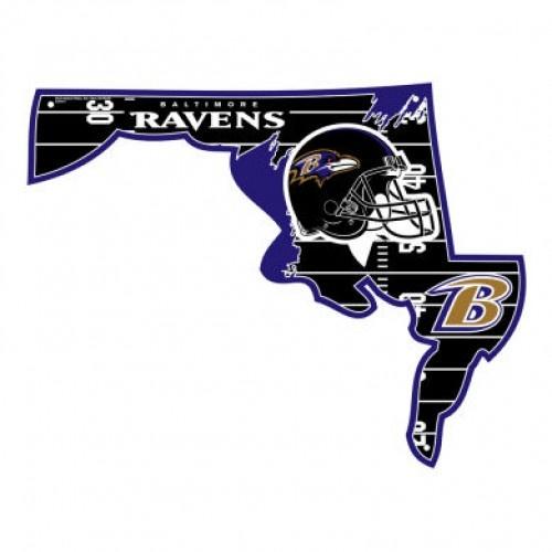 Ravens State Sign