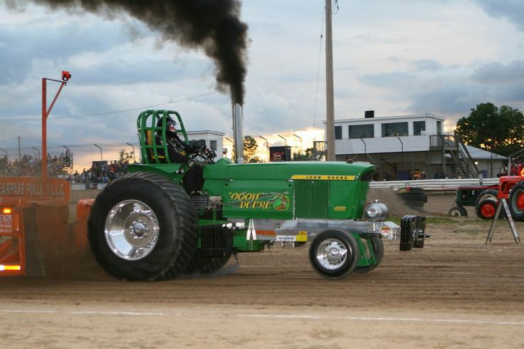 Truck and Tractor Pulling Series | Local pullers dominate South Buxton Raceway's Tractor Pull