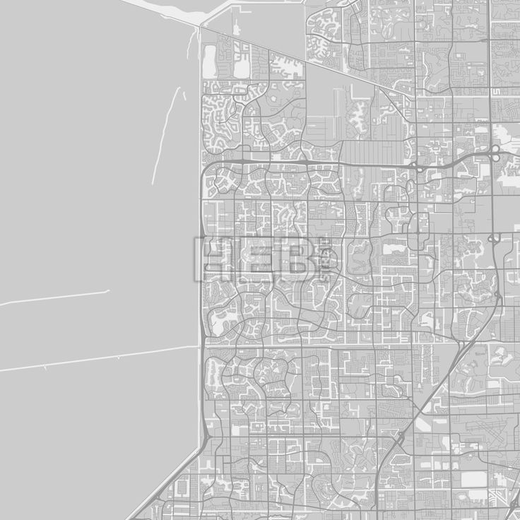Best 25 detailed map of florida ideas on pinterest map of miami coral springs downtown and surroundings map in grey version with many details for high zoom levels publicscrutiny Choice Image
