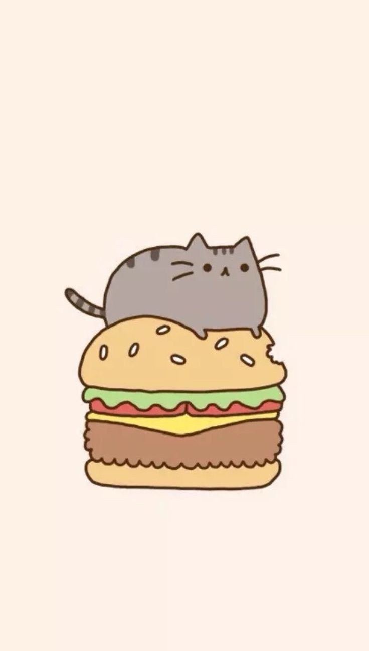 Pin by Kelsey Kerzman on Phone Wallpapers. Pusheen cat