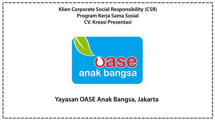 CSR Yayasan OASE Anak Bangsa, Jakarta