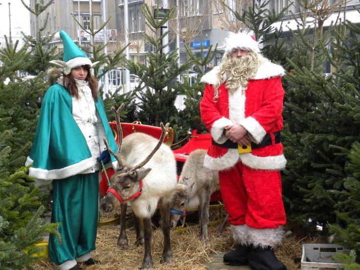 Święty Mikołaj na Rynku - fot. Piotr A. Jeleń
