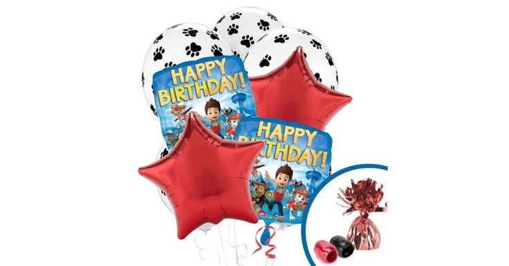 I found this great Birthday Party idea on BirthdayExpress.com. PAW Patrol Balloon Bouquet, Birthday Express helps create memories that last a lifetime - click here to start the fun!