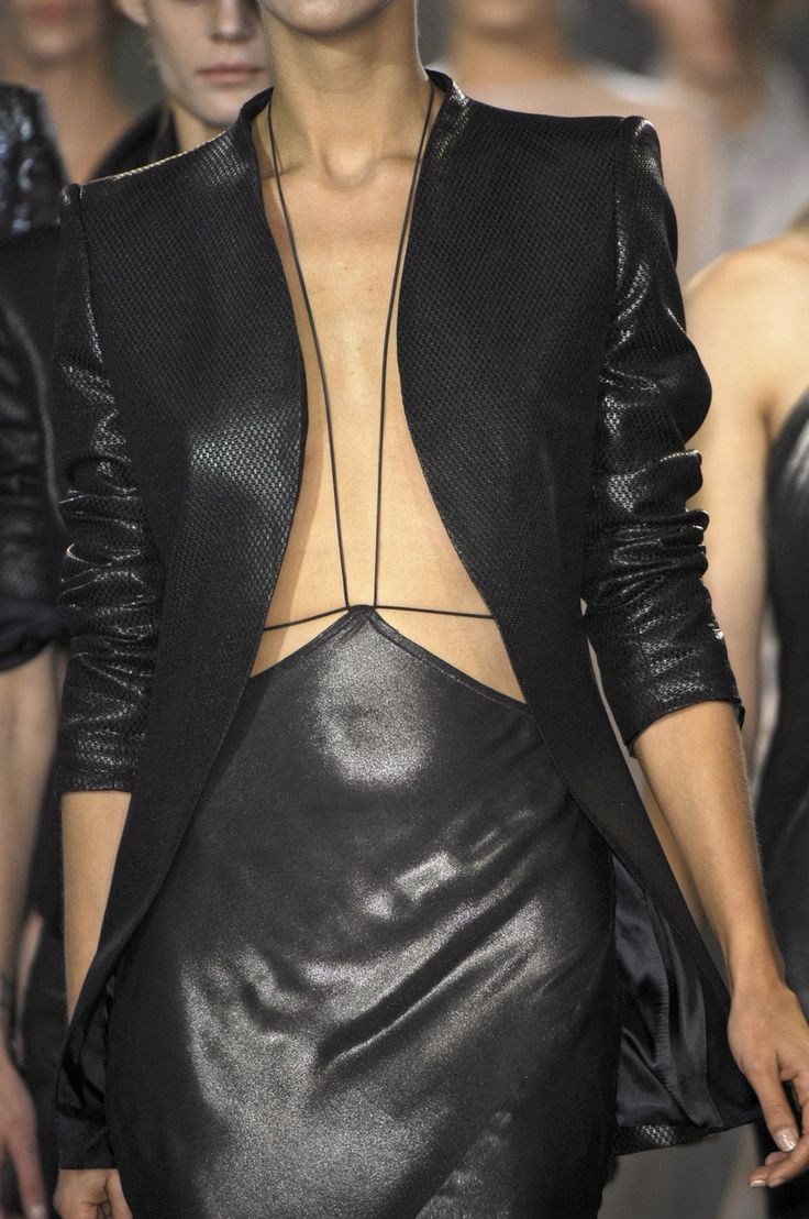 Haider Ackermann at Paris Spring 2008 (Details)