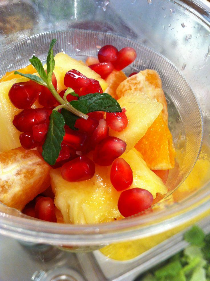 #fruit #salad @NanuRoma www.nanubagelbar.it