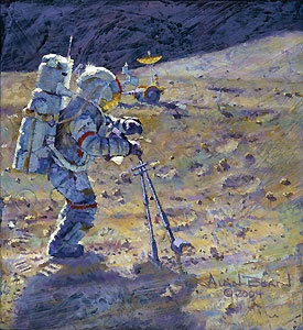 Some Tools of Our Trade - Alan Bean - World-Wide-Art.com - $265.00