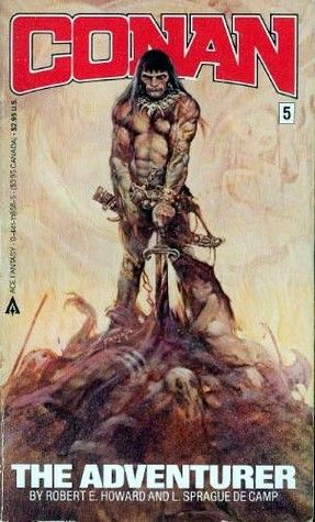 This is the book that started my lifelong love affair with Conan, Sword&Sorcery, and Robert E. Howard. And if it hadn't been for the Frank Frazetta cover, that might never have happened.