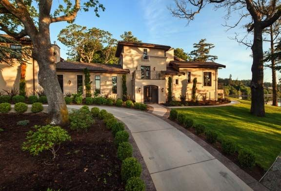 Mansion dream house: Stunning Mediterranean Villa in Victoria, British Columbia, Canada