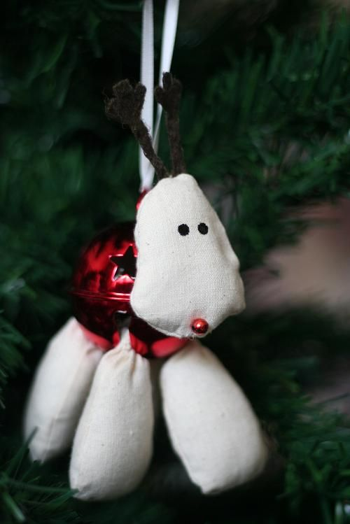 Christmas Sewing Craft Ideas Part - 49: Sew A Reindeer Christmas Decoration