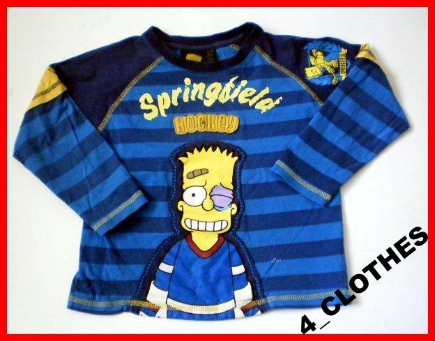 Simpsonowie Bart Bluzka Z Dlugim Rekawem 110 116 2506167835 Oficjalne Archiwum Allegro Clothes Varsity Jacket Fashion