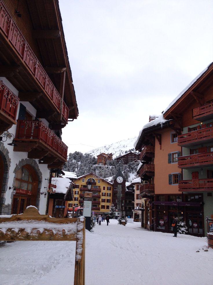 Les Arcs ski resort, France
