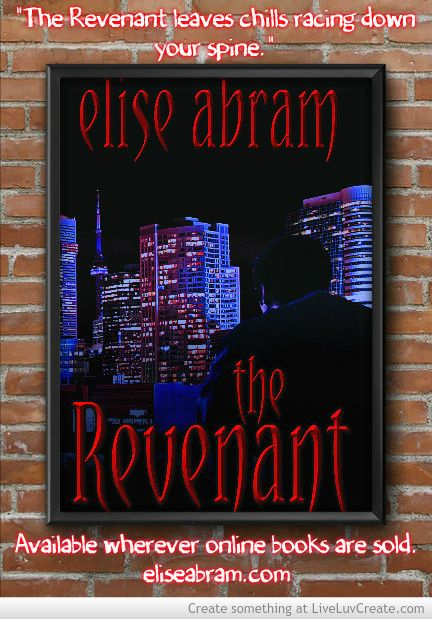"""""""The Revenant combines action, suspense, and horror which at times leaves chills racing down your spine in a fast paced read.""""  Amzn.com/B00M4V19D0"""