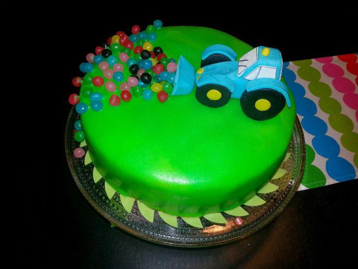 Silmukoita ja suklaakakkua: Autokakkuja