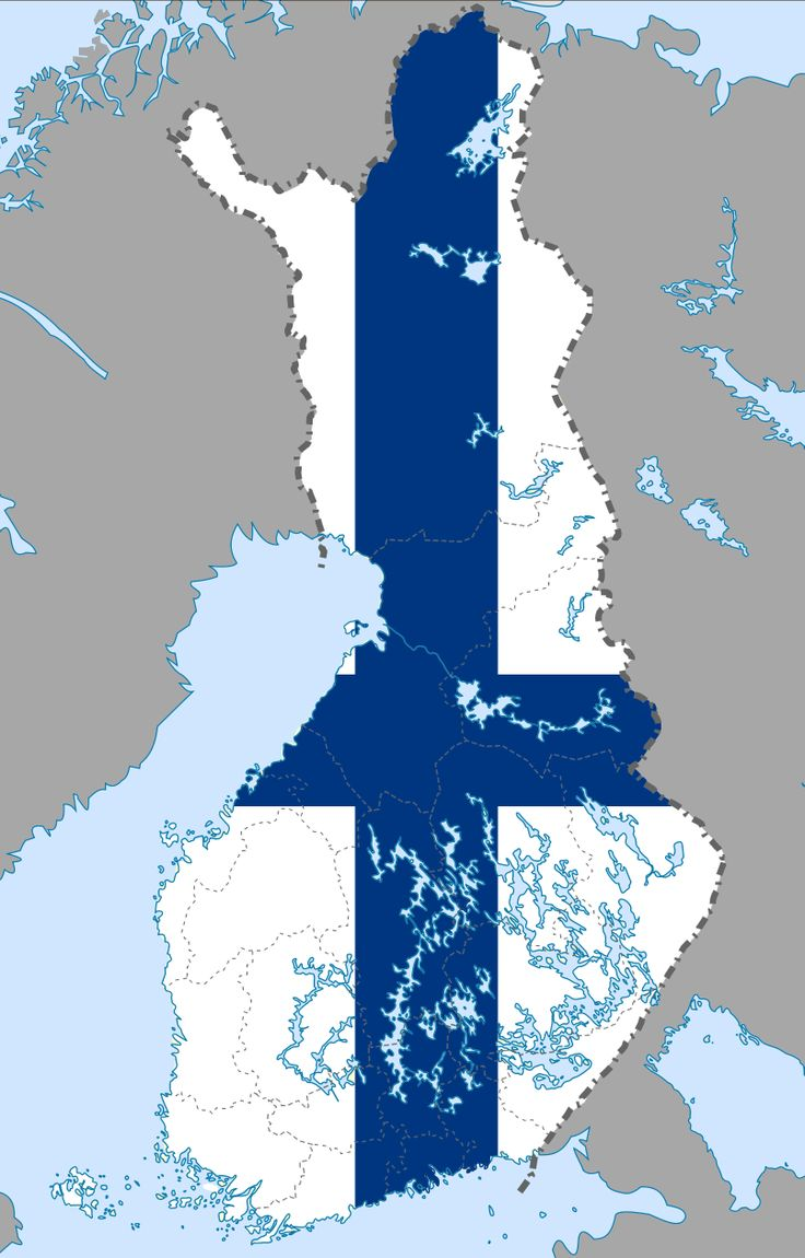 Finland's colors.