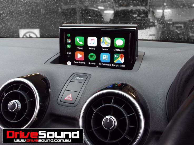 Audi A1 with Apple CarPlay installed by DriveSound