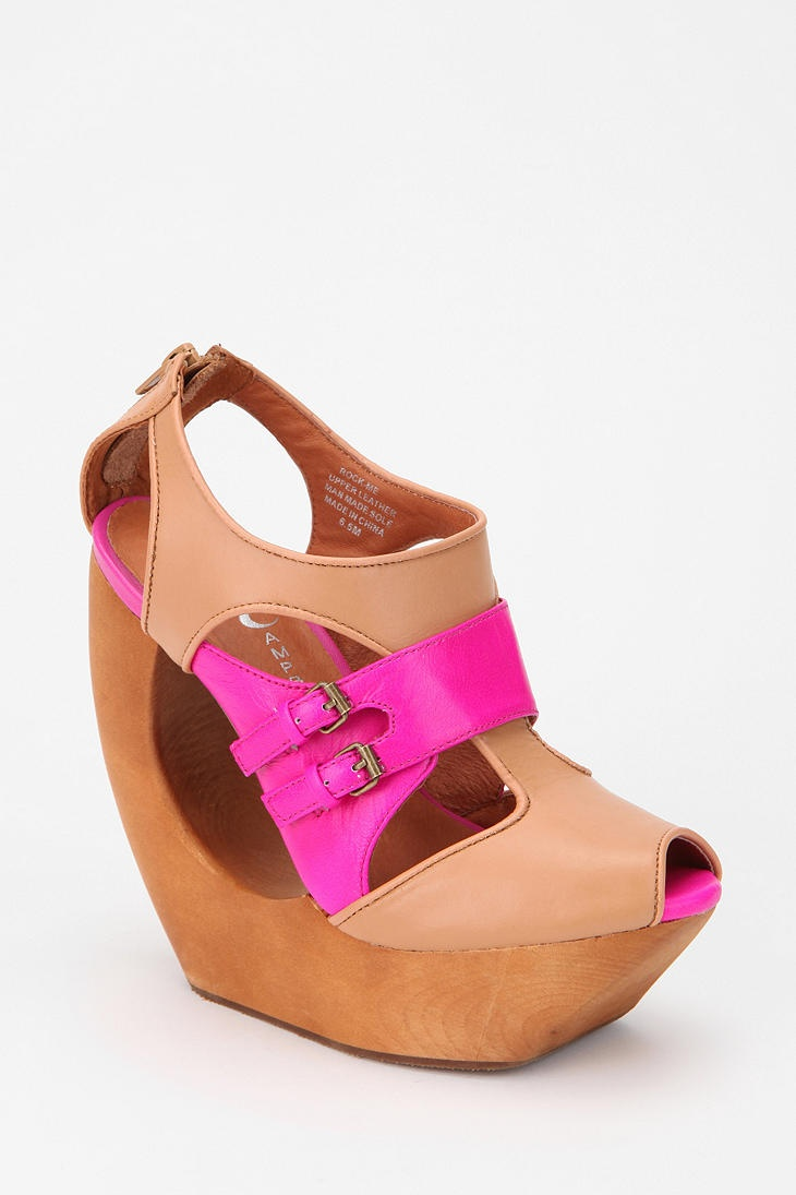 Rock all night long #urbanoutfitters: Fashion, Dreams Closet, Style, Wedges Shoes, Jeffrey Campbell, Sick Wedges, Campbell Rocks, Shoes Addiction, Platform Sandals