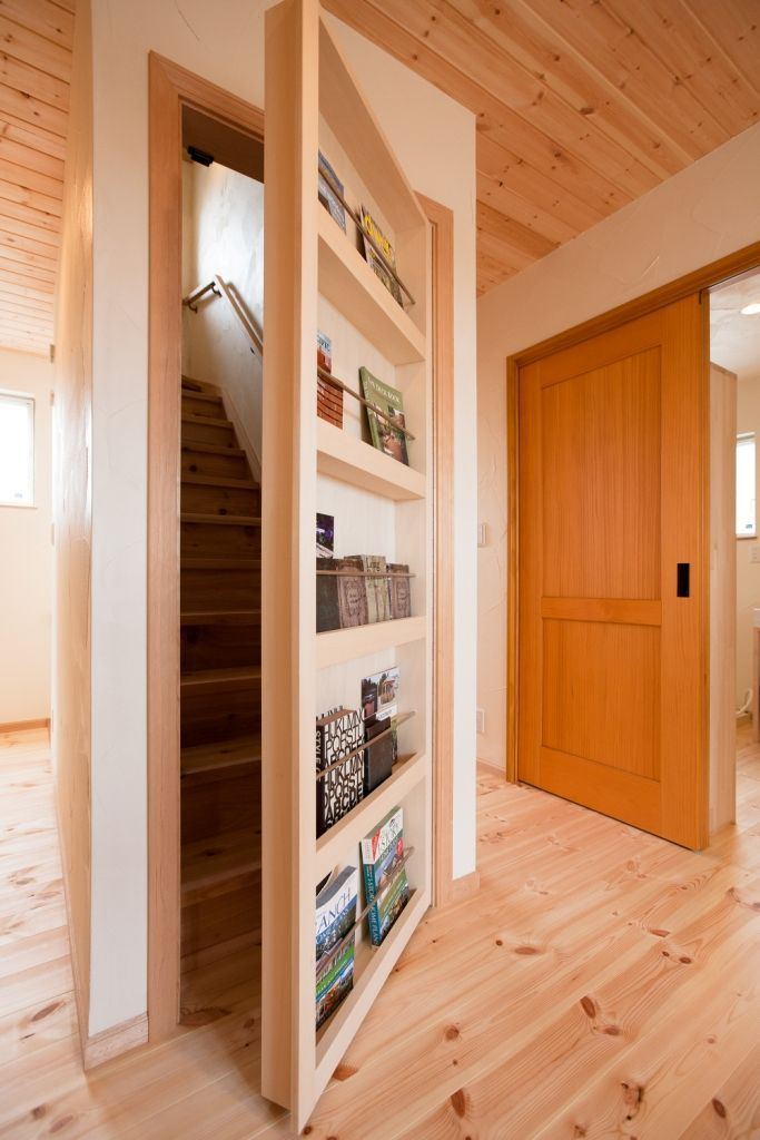 隠し部屋 ドア 本棚 Google 検索 自宅で 模様替え ハウスデザイン