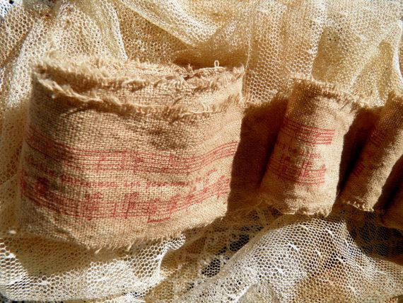 Country Primitive Christmas Trim  Hand by homesteadtreasures