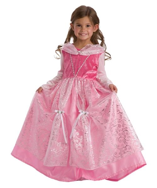 Little Adventures Deluxe Sleeping Beauty Costume with Optional Slip - Pretend Play & Dress-Up at Hayneedle