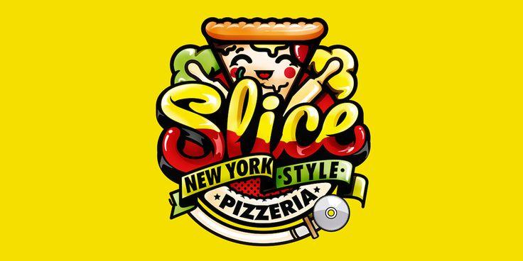 Slice Pizzeria — The Dieline - Branding & Packaging