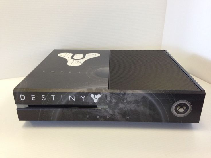 Destiny Xbox One Console Skin | Xbox one, Xbox and Xbox ...
